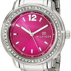 Tommy Hilfiger Women's 1781501 Crystal-Accented Stainless | 100% original, import SUA, 10 zile lucratoare af22508 - Ceas dama Tommy Hilfiger, Casual, Quartz, Analog