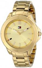 Tommy Hilfiger Women's 1781413 Gold-Tone Watch | 100% original, import SUA, 10 zile lucratoare af22508, Casual, Quartz, Analog, Tommy Hilfiger
