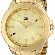 Tommy Hilfiger Women's 1781413 Gold-Tone Watch | 100% original, import SUA, 10 zile lucratoare af22508 - Ceas dama Tommy Hilfiger, Analog