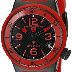 Swiss Legend Women's 11840P-BB-01-RD Neptune Black | 100% original, import SUA, 10 zile lucratoare af22508 - Ceas dama Swiss Legend, Analog