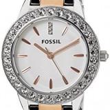 Fossil Women's ES3622 Jesse Crystal-Accented Two-Tone | 100% original, import SUA, 10 zile lucratoare af22508 - Ceas dama Fossil, Casual, Quartz, Analog