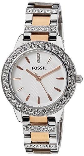 Fossil Women's ES3622 Jesse Crystal-Accented Two-Tone | 100% original, import SUA, 10 zile lucratoare af22508 foto mare