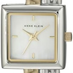 Anne Klein Women's 109117MPTT Square Swarovski | 100% original, import SUA, 10 zile lucratoare af22508 - Ceas dama Anne Klein, Analog