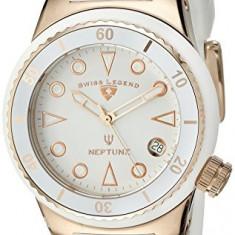Swiss Legend Women's 11840D-RG-02-WHT Neptune White   100% original, import SUA, 10 zile lucratoare af22508 - Ceas dama Swiss Legend, Casual, Quartz, Analog