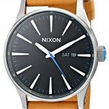 Nixon Sentry Leather Watch | 100% original, import SUA, 10 zile lucratoare af22508