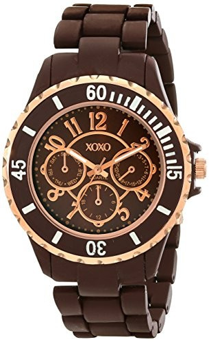 XOXO Women's XO5576 Brown Rubber Coated | 100% original, import SUA, 10 zile lucratoare af22508