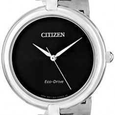 Citizen Women's EM0220-88E Silhouette Stainless Steel | 100% original, import SUA, 10 zile lucratoare af22508 - Ceas dama Citizen, Analog