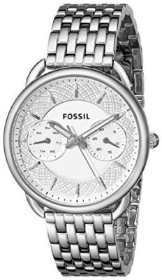 Fossil Women's ES3712 Tailor Silver-Tone Stainless | 100% original, import SUA, 10 zile lucratoare af22508 foto