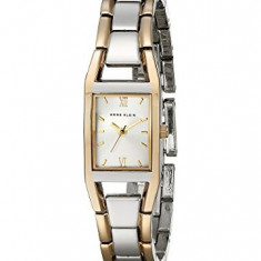 Anne Klein Women's 10-6419SVTT Two-Tone Dress | 100% original, import SUA, 10 zile lucratoare af22508 - Ceas dama Anne Klein, Elegant, Quartz, Analog