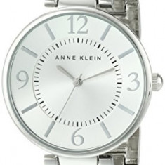 Anne Klein Women's AK 1789SVSV Silver-Tone | 100% original, import SUA, 10 zile lucratoare af22508 - Ceas dama Anne Klein, Elegant, Quartz, Analog