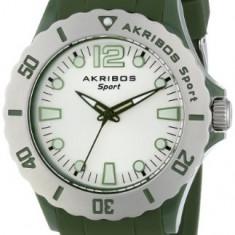 Akribos XXIV Women's AK536GN Essential Luminous | 100% original, import SUA, 10 zile lucratoare af22508, Casual, Quartz, Silicon