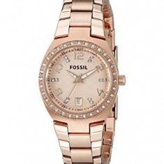 Fossil Women's AM4508 Serena Rose Gold-Tone | 100% original, import SUA, 10 zile lucratoare af22508 - Ceas dama Fossil, Analog