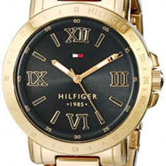 Tommy Hilfiger Women's 1781471 Gold-Plated Watch | 100% original, import SUA, 10 zile lucratoare af22508 - Ceas dama Tommy Hilfiger, Casual, Analog