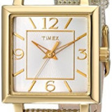 Timex Women's T2P379 Elevated Classics Gold-Tone | 100% original, import SUA, 10 zile lucratoare af22508 - Ceas dama Timex, Analog