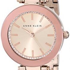 Anne Klein Women's 1906RGRG Swarovski Crystal-Accented   100% original, import SUA, 10 zile lucratoare af22508 - Ceas dama Anne Klein, Elegant, Quartz, Analog