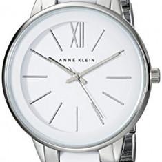 Anne Klein Women's AK 1413WTSV Watch | 100% original, import SUA, 10 zile lucratoare af22508 - Ceas dama Anne Klein, Elegant, Quartz, Analog