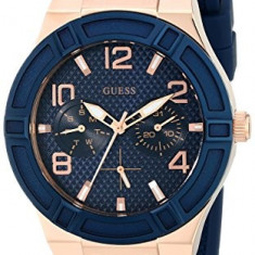 GUESS Women's U0571L1 Iconic Blue Multi-Function | 100% original, import SUA, 10 zile lucratoare af22508 - Ceas dama Guess, Casual, Analog