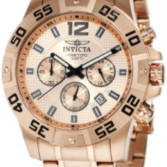 Invicta Men's 1504 Chronograph 18k Rose | 100% original, import SUA, 10 zile lucratoare af22508 - Ceas barbatesc Invicta, Casual, Quartz
