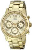 GUESS Women's U0330L1 Gold-Tone Stainless Steel | 100% original, import SUA, 10 zile lucratoare af22508, Elegant, Quartz, Analog