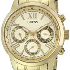 GUESS Women's U0330L1 Gold-Tone Stainless Steel | 100% original, import SUA, 10 zile lucratoare af22508 - Ceas dama Guess, Elegant, Analog