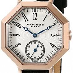 Akribos XXIV Women's AK771BKR Analog Display | 100% original, import SUA, 10 zile lucratoare af22508 - Ceas dama