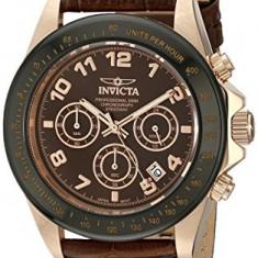 Invicta Men's 10712 Speedway Gold Ion-Plated   100% original, import SUA, 10 zile lucratoare af22508 - Ceas barbatesc Invicta, Casual, Quartz, Placat cu aur