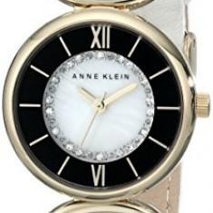 Anne Klein Women's AK 1934MPIV Swarovski | 100% original, import SUA, 10 zile lucratoare af22508 - Ceas dama Anne Klein, Analog