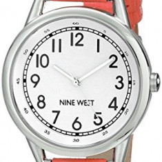 Nine West Women's NW 1699WTCO Easy-To-Read | 100% original, import SUA, 10 zile lucratoare af22508 - Ceas dama Nine West, Casual, Quartz, Analog