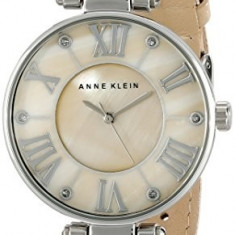 Anne Klein Women's 10 9919TMTN Silver-Tone   100% original, import SUA, 10 zile lucratoare af22508 - Ceas dama Anne Klein, Elegant, Quartz, Analog