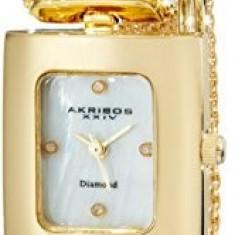 Akribos XXIV Women's AK510YG Mesh Wraparound | 100% original, import SUA, 10 zile lucratoare af22508 - Ceas dama Akribos, Casual, Quartz, Analog