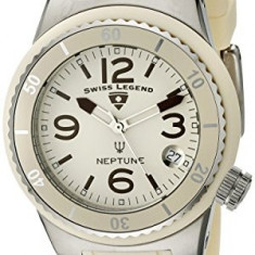 Swiss Legend Women's 11840P-016 Neptune Beige | 100% original, import SUA, 10 zile lucratoare af22508 - Ceas dama Swiss Legend, Analog