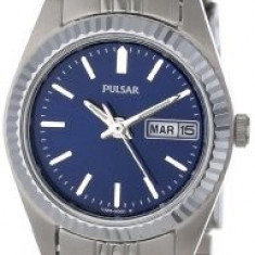 Pulsar Women's PN8001 Dress Stainless Steel   100% original, import SUA, 10 zile lucratoare af22508 - Ceas dama Pulsar, Elegant, Quartz, Analog