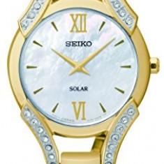 Seiko Women's SUP216 Swarovski Crystal-Accented Stainless | 100% original, import SUA, 10 zile lucratoare af22508 - Ceas dama Seiko, Analog