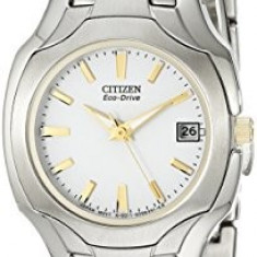 Citizen Women's EW1254-53A Eco-Drive Two-Tone Watch | 100% original, import SUA, 10 zile lucratoare af22508 - Ceas dama Citizen, Analog