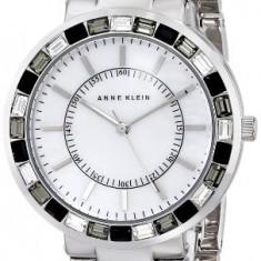 Anne Klein Women's AK 1697MPSV Swarovski | 100% original, import SUA, 10 zile lucratoare af22508 - Ceas dama Anne Klein, Elegant, Quartz, Analog
