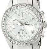 Fossil Women's ES2681 Decker Silver-Tone Stainless | 100% original, import SUA, 10 zile lucratoare af22508 - Ceas dama Fossil, Analog