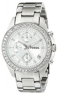 Fossil Women's ES2681 Decker Silver-Tone Stainless | 100% original, import SUA, 10 zile lucratoare af22508 foto