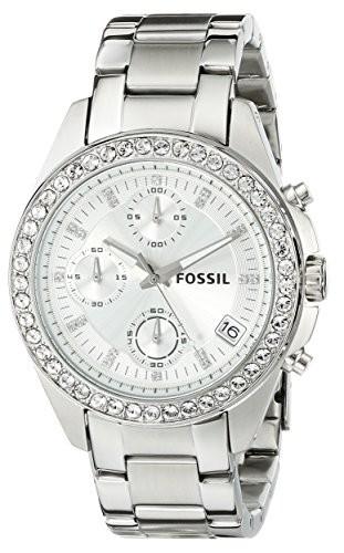 Fossil Women's ES2681 Decker Silver-Tone Stainless | 100% original, import SUA, 10 zile lucratoare af22508 foto mare