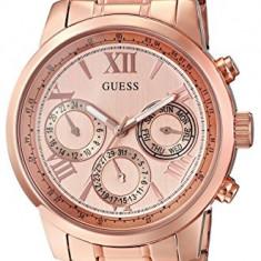 GUESS Women's U0330L2 Rose Gold-Tone Stainless | 100% original, import SUA, 10 zile lucratoare af22508 - Ceas dama Guess, Elegant, Analog