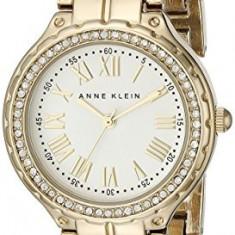 Anne Klein Women's AK 1506SVGB Swarovski | 100% original, import SUA, 10 zile lucratoare af22508 - Ceas dama Anne Klein, Analog