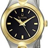 Bulova Women's 98L136 Bracelet Black Dial | 100% original, import SUA, 10 zile lucratoare af22508 - Ceas dama Bulova, Analog
