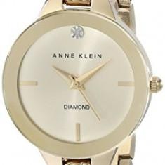 Anne Klein Women's AK 1942CHGB Diamond-Accented   100% original, import SUA, 10 zile lucratoare af22508 - Ceas dama