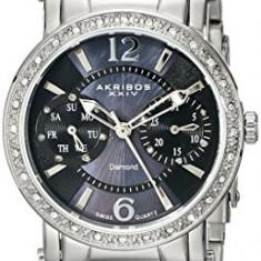 Akribos XXIV Women's AKR472SS Lady Diamond | 100% original, import SUA, 10 zile lucratoare af22508 - Ceas dama Akribos, Analog
