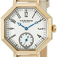 Akribos XXIV Women's AK771TN Gold-Tone Watch | 100% original, import SUA, 10 zile lucratoare af22508 - Ceas dama Akribos, Casual, Quartz, Analog
