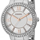 Fossil Women's ES3741 Virginia Crystal-Accented Stainless | 100% original, import SUA, 10 zile lucratoare af22508 - Ceas dama Fossil, Analog