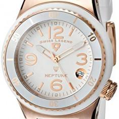Swiss Legend Women's 11840P-RG-02-WHT Neptune White | 100% original, import SUA, 10 zile lucratoare af22508 - Ceas dama Swiss Legend, Casual, Quartz, Analog