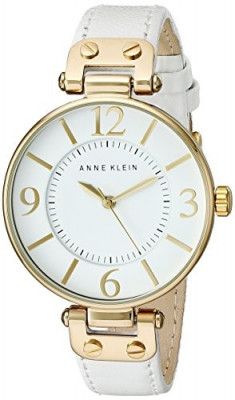 Anne Klein Women's 109168WTWT Gold-Tone and | 100% original, import SUA, 10 zile lucratoare af22508 foto