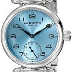 Akribos XXIV Women's AK806SSBU Analog Display | 100% original, import SUA, 10 zile lucratoare af22508, Casual, Quartz