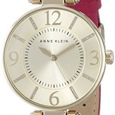 Anne Klein Women's 10 9168CHPK Gold-Tone | 100% original, import SUA, 10 zile lucratoare af22508 - Ceas dama Anne Klein, Elegant, Quartz, Analog