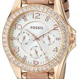 Fossil Women's ES3466 Riley Rose Gold-Tone | 100% original, import SUA, 10 zile lucratoare af22508 - Ceas dama Fossil, Analog